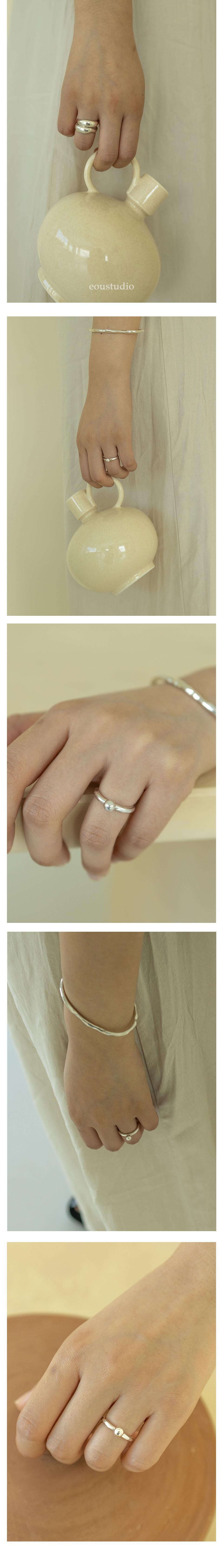 이오유스튜디오(EOU STUDIO) silver ball ring