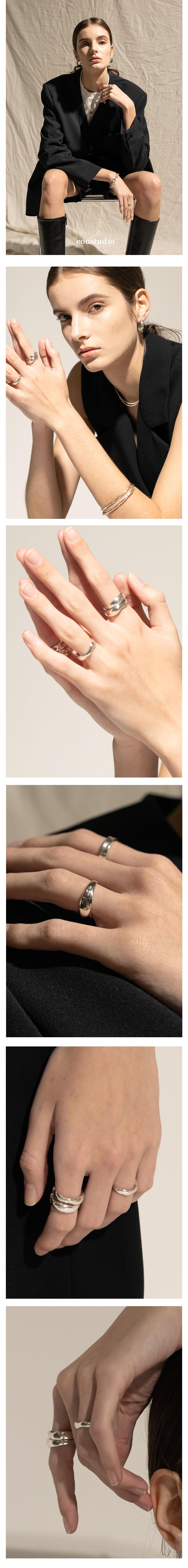 이오유스튜디오(EOU STUDIO) the texture of glass Ring 01